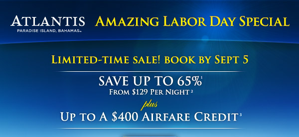 ATLANTIS PARADISE ISLAND, BAHAMAS